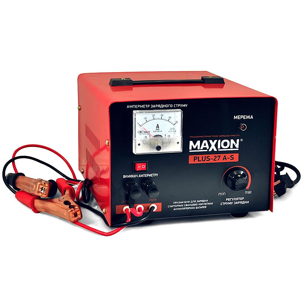 Трансформаторное зарядное устройство MAXION PLUS-27 А-s