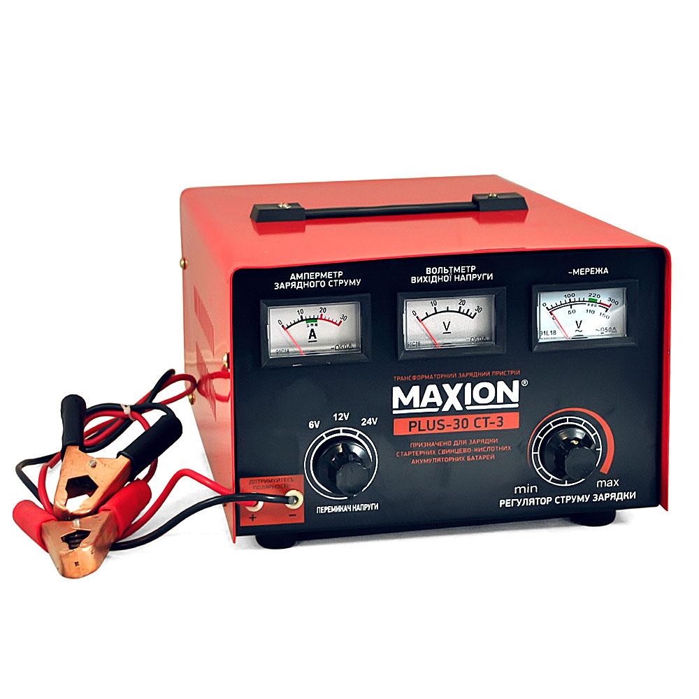 Трансформаторное зарядное устройство MAXION PLUS-30СT-3