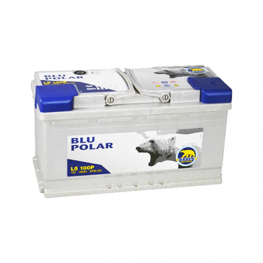 Автомобильный аккумулятор BAREN Blu polar 100Аh 870А R+