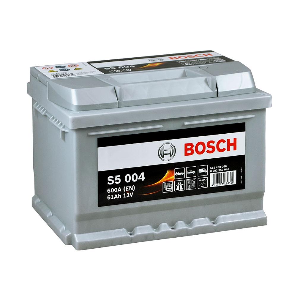 Автомобильный аккумулятор BOSCH (S50 040) 61Ah 600A R+
