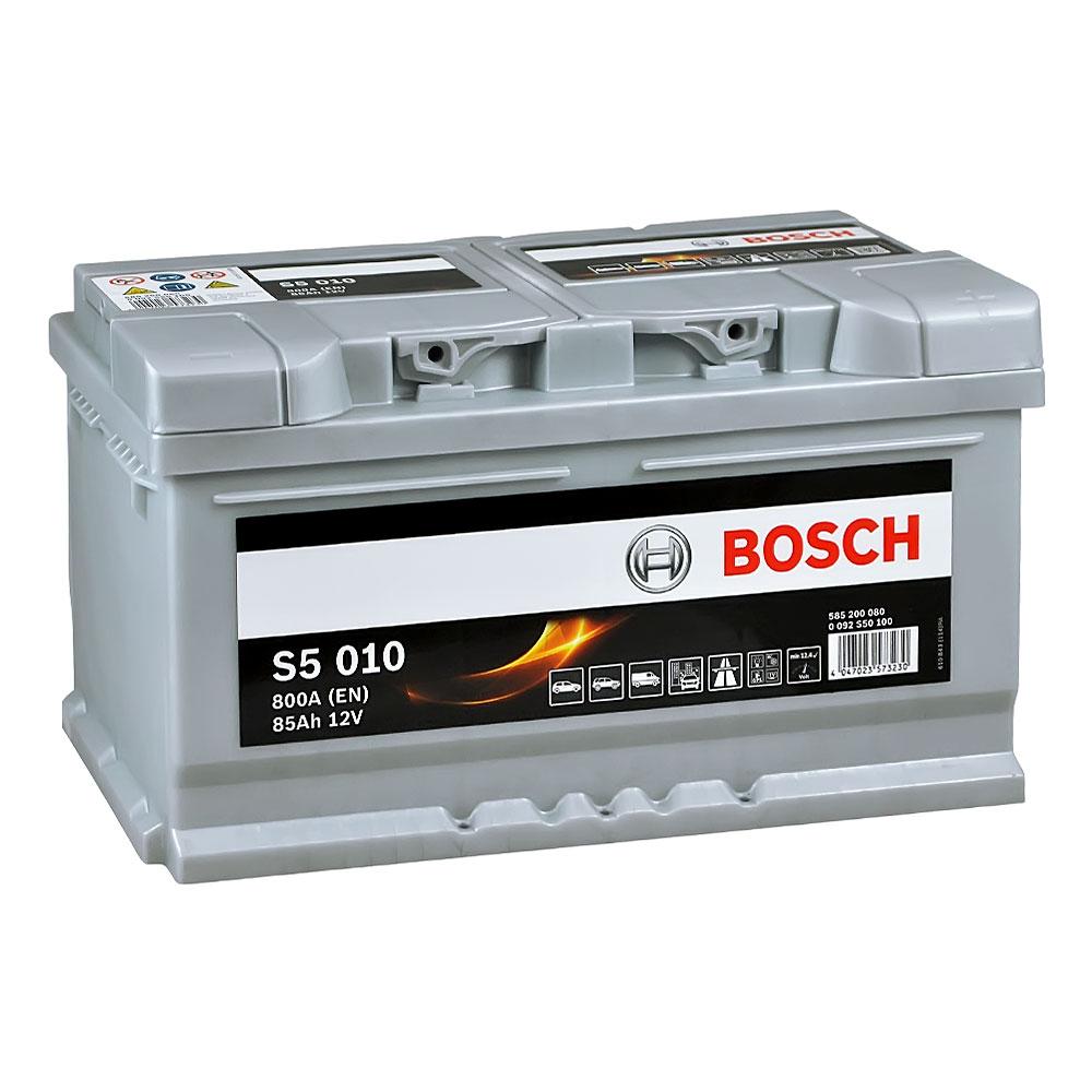 Автомобильный аккумулятор BOSCH (S50 100) 85Ah 800A R+
