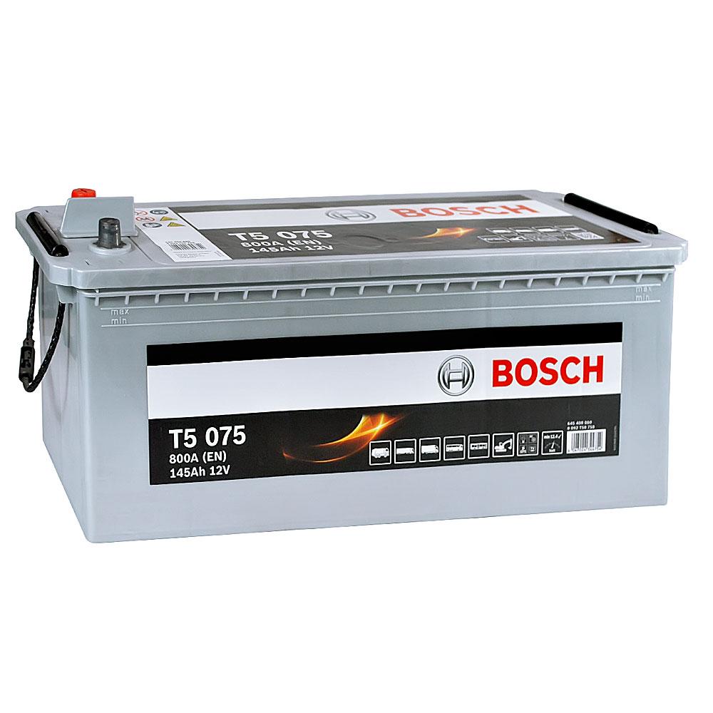 Автомобильный аккумулятор BOSCH (T50 750) 145Ah 800A L+