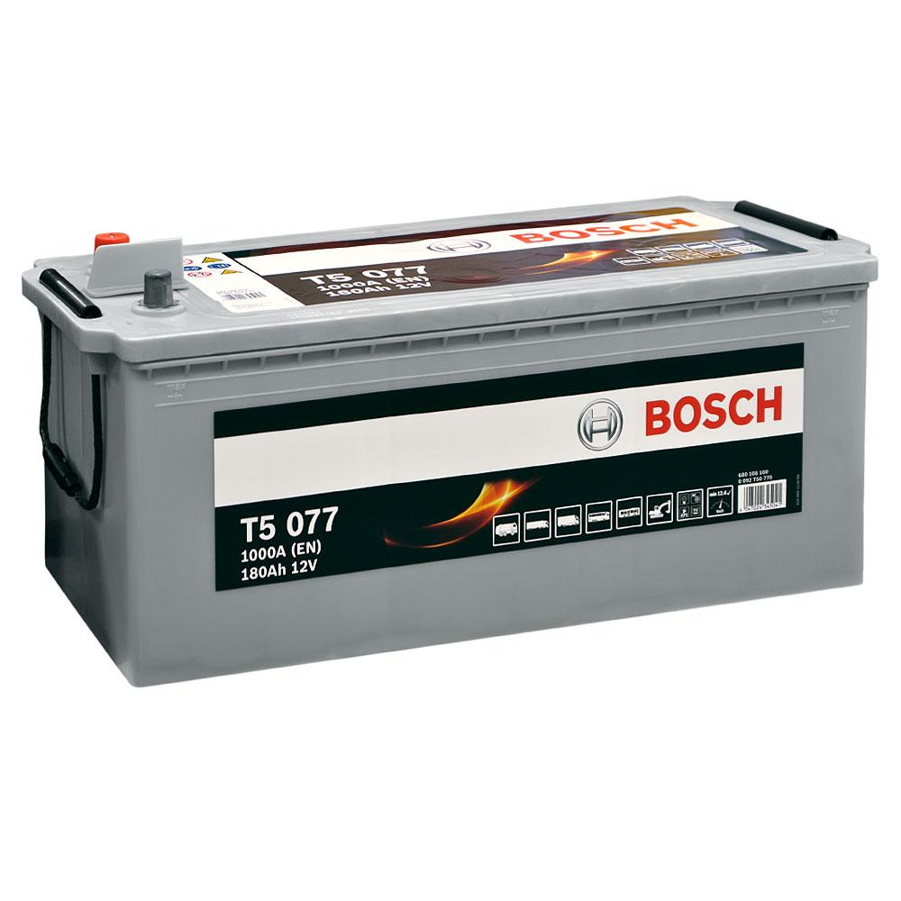 Автомобильный аккумулятор BOSCH (T50 770) 180Ah 1000A L+