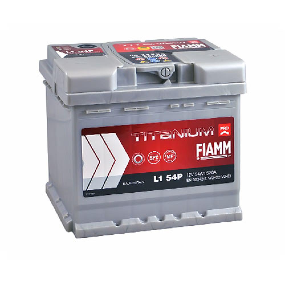 Автомобильный аккумулятор FIAMM Titanium Pro 54Аh 520А R+