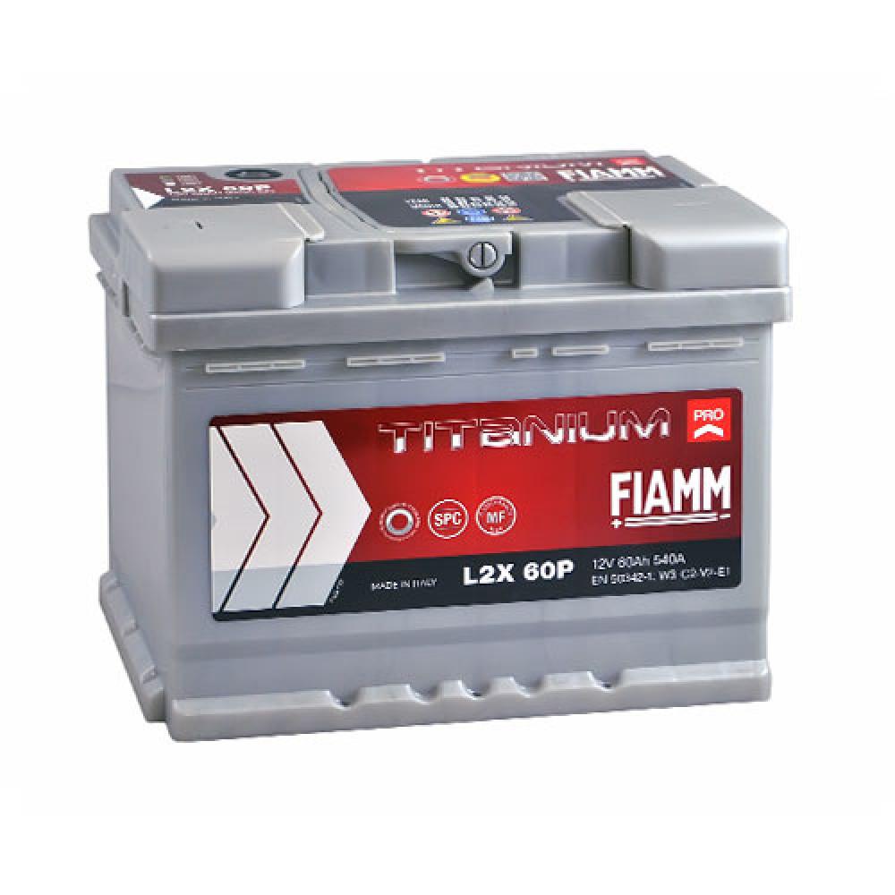 Автомобильный аккумулятор FIAMM Titanium Pro 60Аh 540А L+