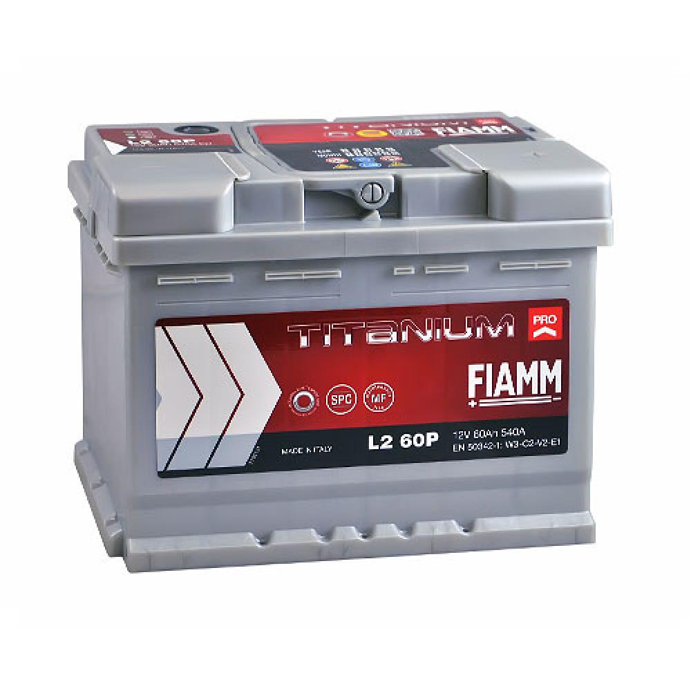 Автомобильный аккумулятор FIAMM Titanium Pro 60Аh 540А R+