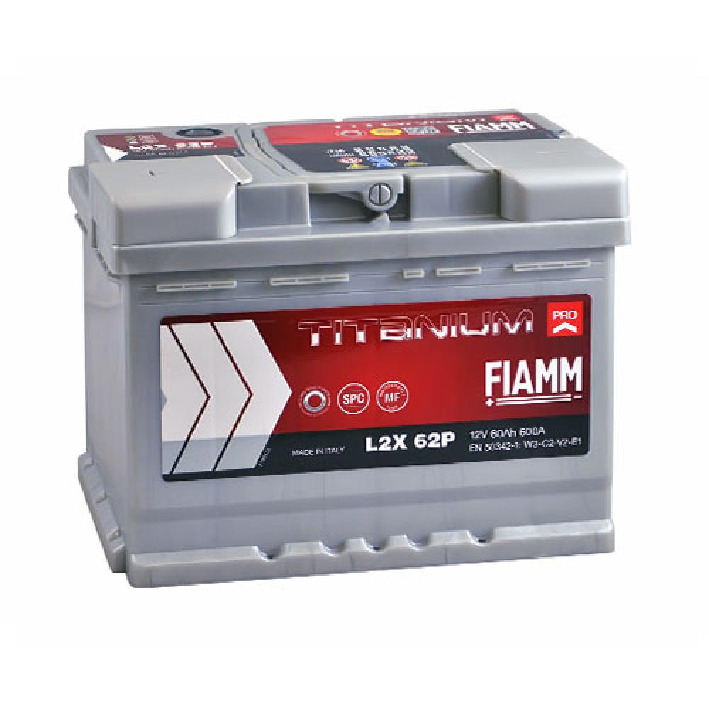 Автомобильный аккумулятор FIAMM Titanium Pro 60Аh 600А L+