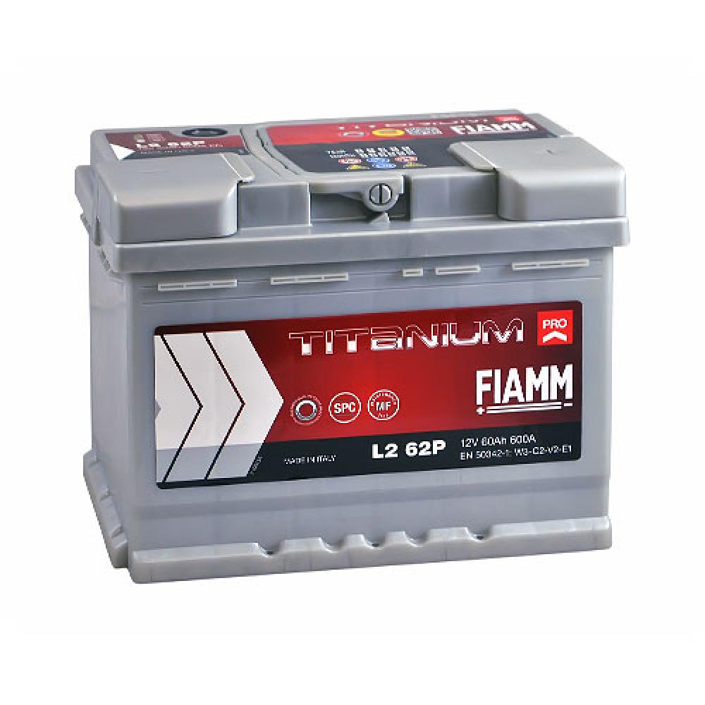 Автомобильный аккумулятор FIAMM Titanium Pro 60Аh 600А R+