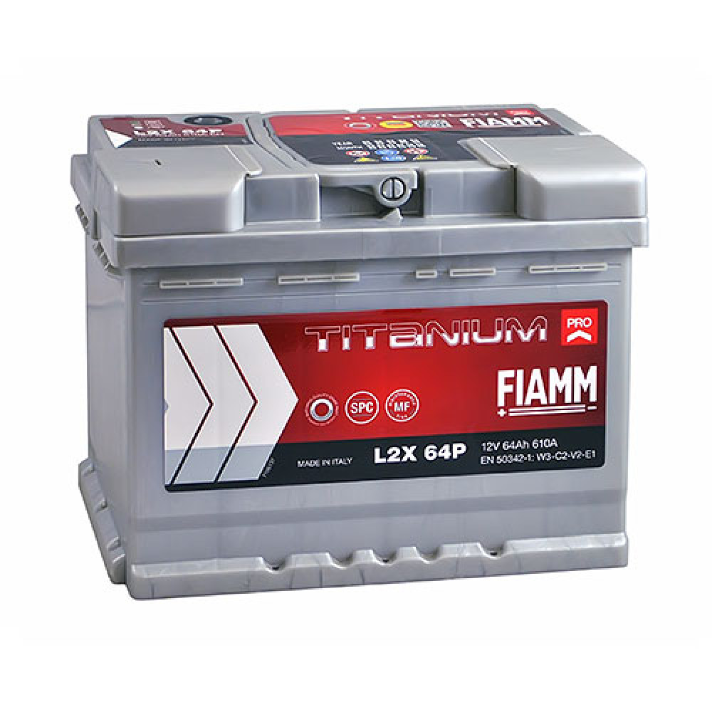 Автомобильный аккумулятор FIAMM Titanium Pro 64Аh 610А L+