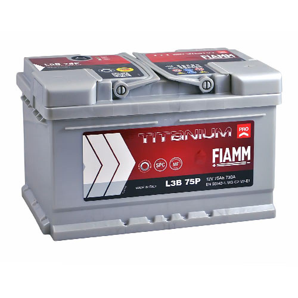 Автомобильный аккумулятор FIAMM Titanium Pro 75Аh 730А R+