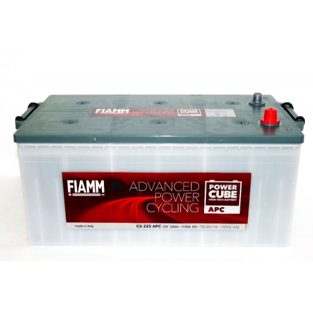 АКБ FIAMM POWER CUBE APC 6СТ-225Аз 1150A R