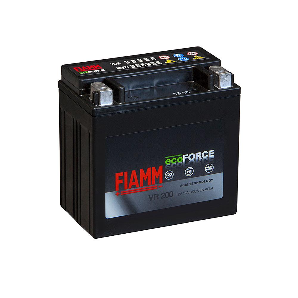 Автомобильный аккумулятор FIAMM Ecoforce AGM 12Аh 200А L+