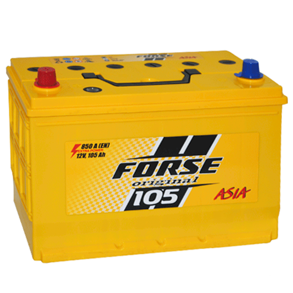 Автомобильный аккумулятор FORSE Asia MF 105Ah 850A L+