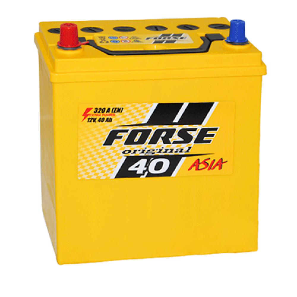 Автомобильный аккумулятор FORSE Asia MF 40Ah 320A L+