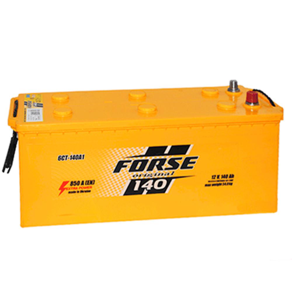 Автомобильный аккумулятор FORSE 140Аh 850A