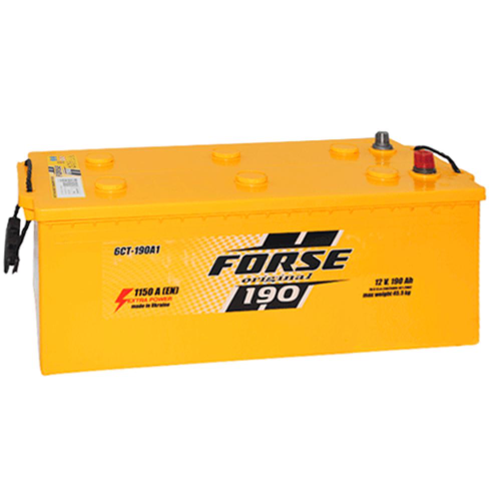 Автомобильный аккумулятор FORSE 190Аh 1150A