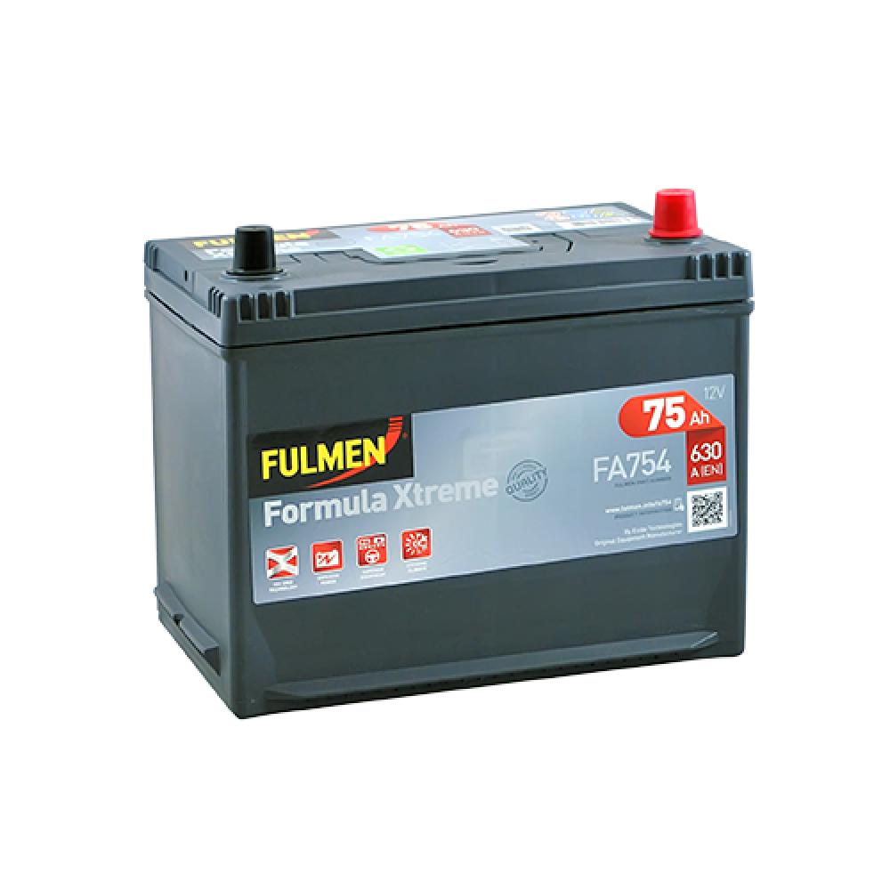 Автомобильный аккумулятор FULMEN Formula Xtreme Asia 75Ah 630A R+