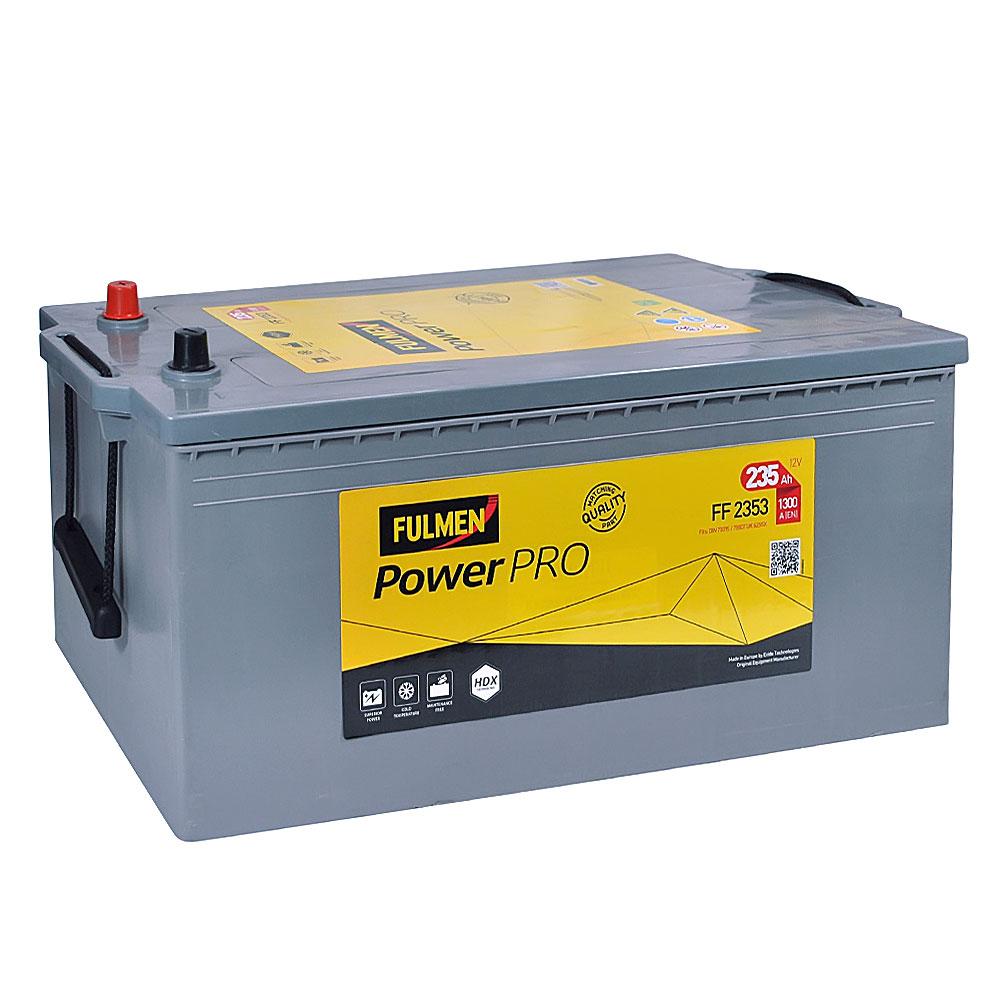Автомобильный аккумулятор FULMEN Power PRO 235Ah 1300A R+
