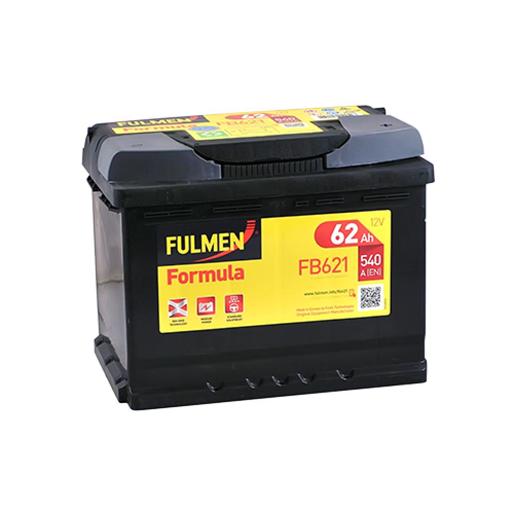 Автомобильный аккумулятор FULMEN Formula 62Ah 540A R+