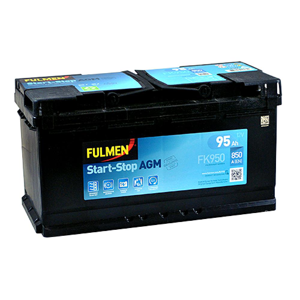 Автомобильный аккумулятор FULMEN Start-Stop AGM 95Ah 850A R+