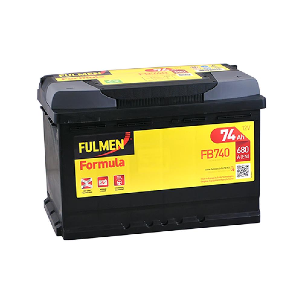 Автомобильный аккумулятор FULMEN Formula 74Ah 680A R+
