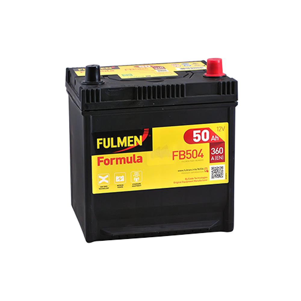 Автомобильный аккумулятор FULMEN Formula Asia 50Ah 360A R+