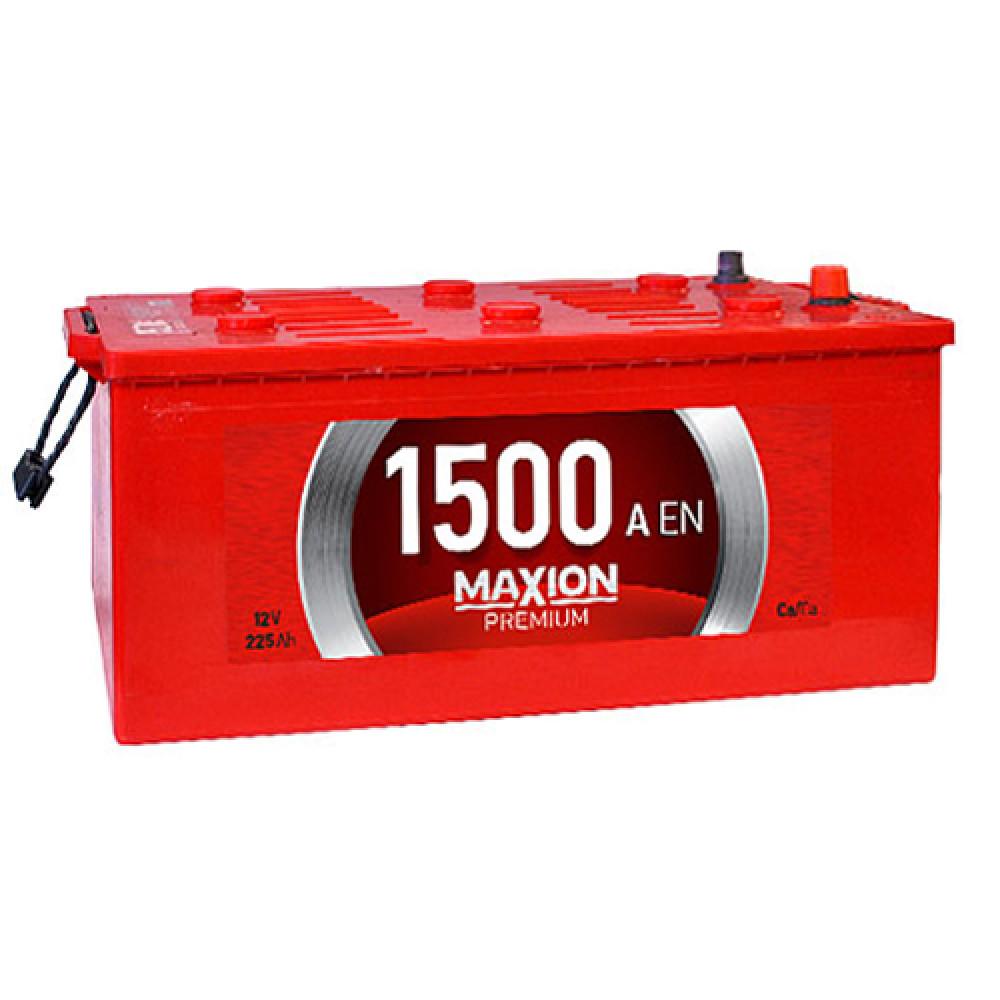 Автомобильный аккумулятор MAXION Premium 225Аh 1500A L+