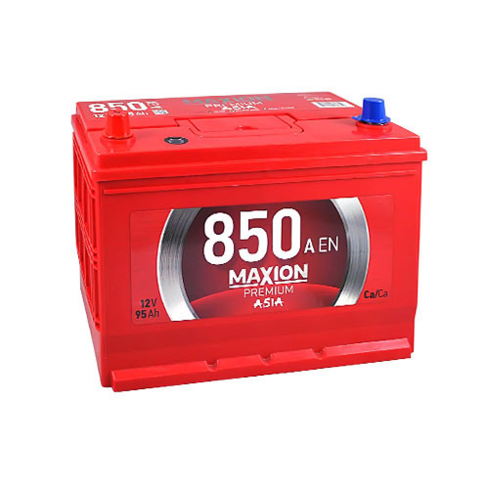 Автомобильный аккумулятор MAXION Premium Asia 95Аh 850A L+