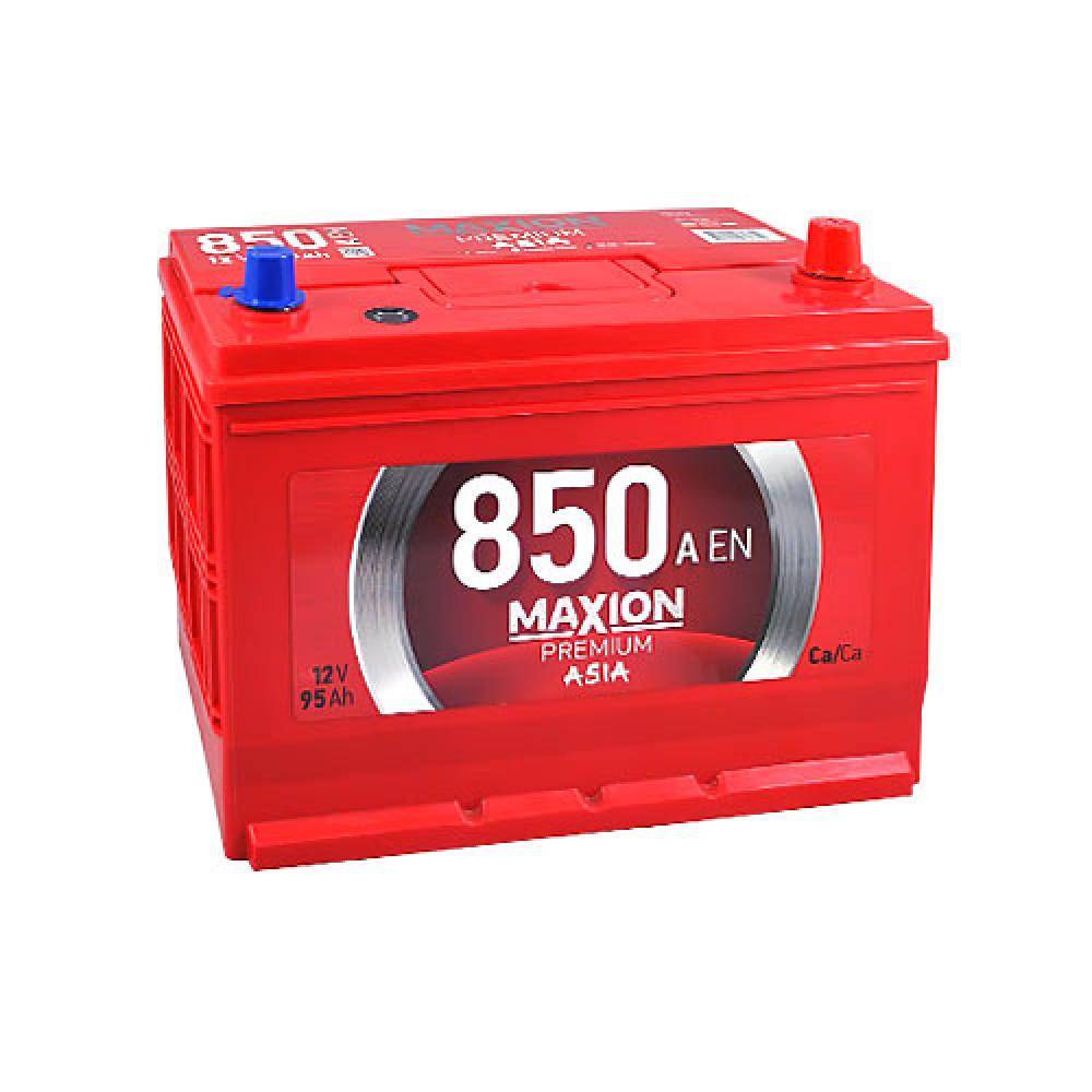 Автомобильный аккумулятор MAXION Premium Asia 95Аh 850A R+