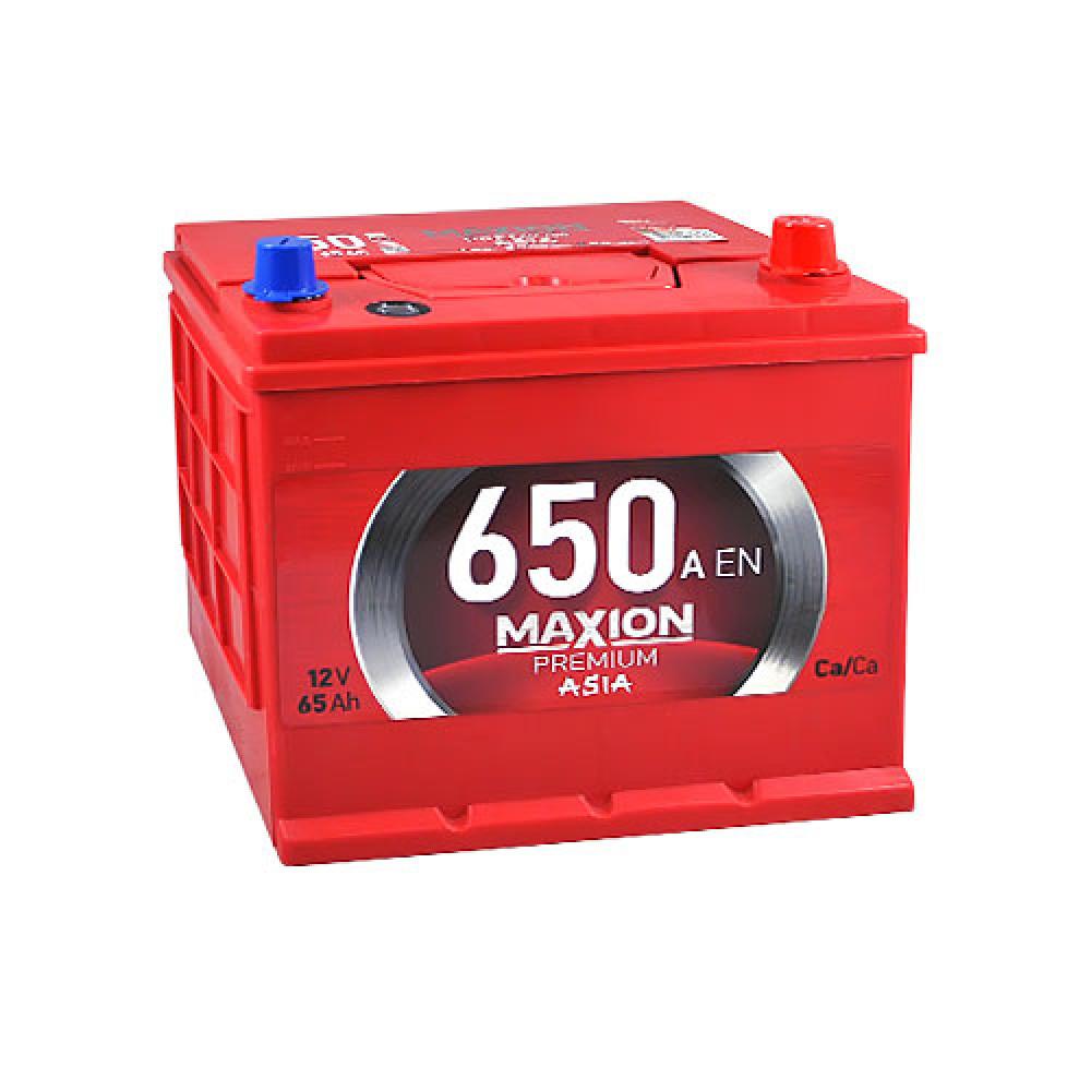 Автомобильный аккумулятор Maxion 6СТ 650А R+ 65 Ач
