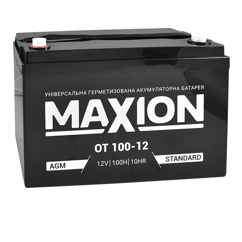 Промышленный аккумулятор MAXION AGM 12-100 (12V,100Ah)