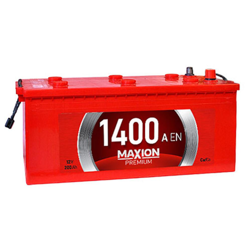 Автомобильный аккумулятор MAXION Premium 200Аh 1400A L+