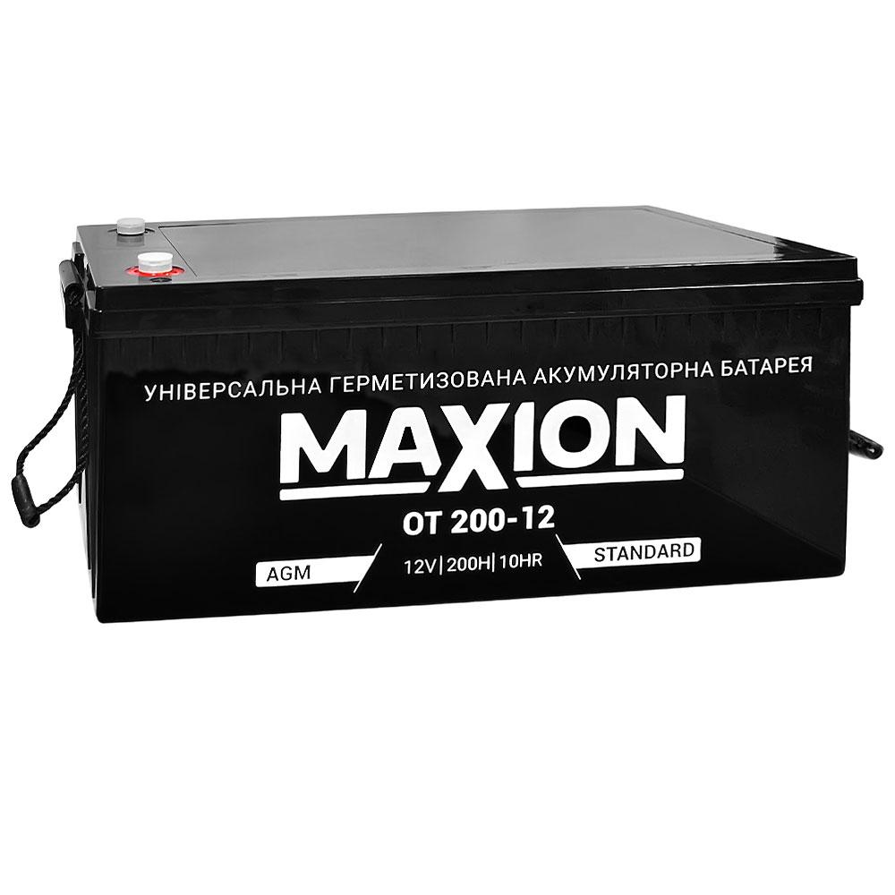 Промышленный аккумулятор Maxion OUTDO 12V 200 Ач