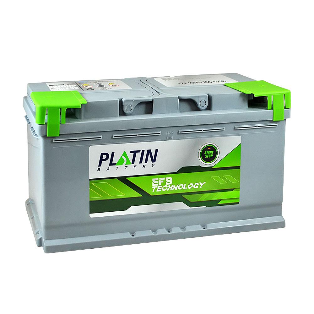 Автомобильный аккумулятор PLATIN EFB SMF 100Ah 860A R+