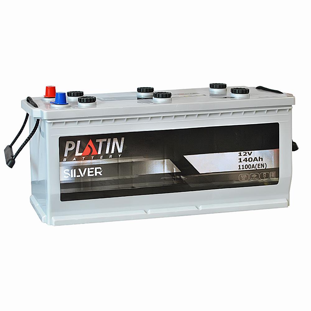 Автомобильный аккумулятор PLATIN Silver MF 140Ah 1100A R+