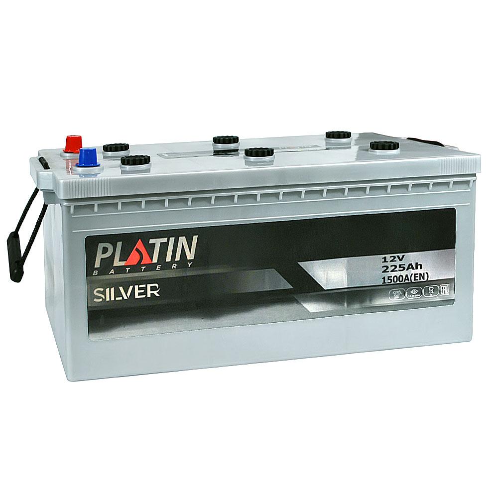 Автомобильный аккумулятор PLATIN Silver MF 225Ah 1500A R+