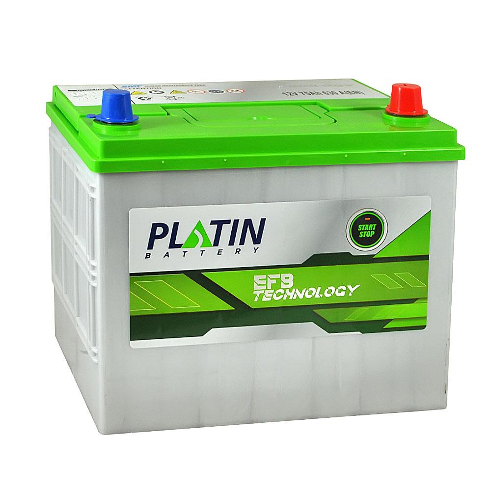 Автомобильный аккумулятор PLATIN EFB Asia SMF 75Ah 630A R+