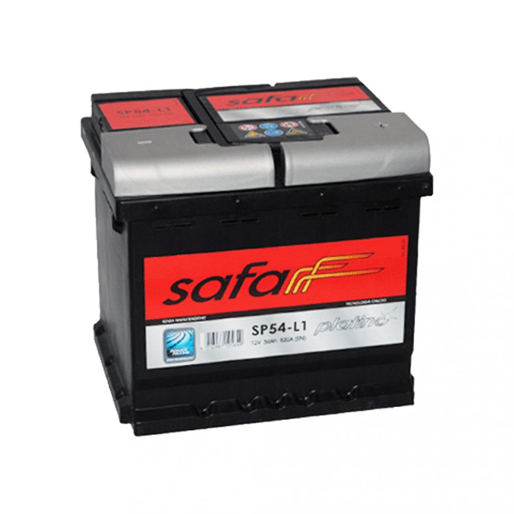 Автомобильный аккумулятор SAFAPlatino54Ah 530AR+