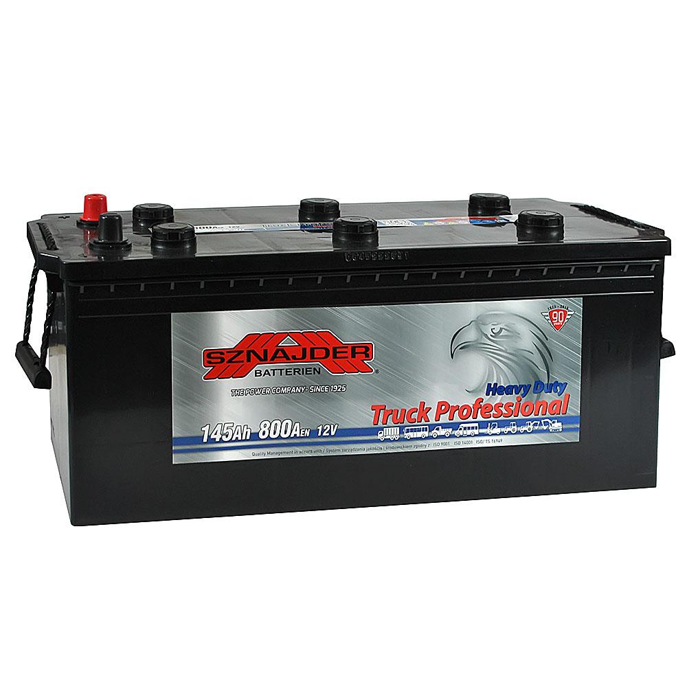 Автомобильный аккумулятор SZNAJDER Truck Freeway (645 20) 145Ah 800A L+