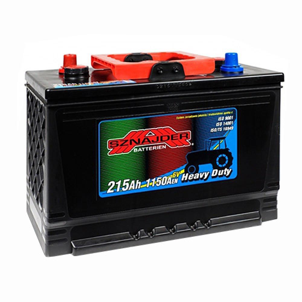 Автомобильный аккумулятор SZNAJDER Farmer 215Ah 1150A R+