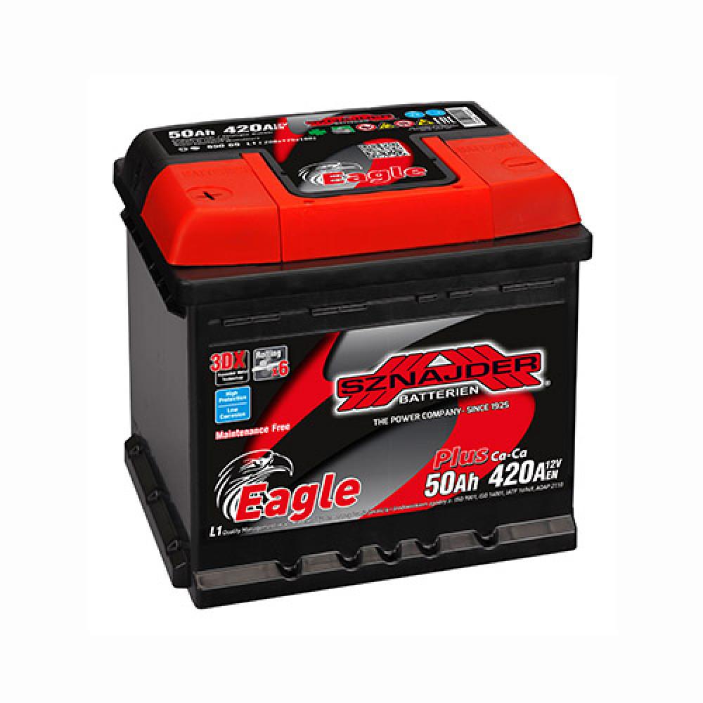 Автомобильный аккумулятор SZNAJDER Plus (550 65) 50Ah 420A L+