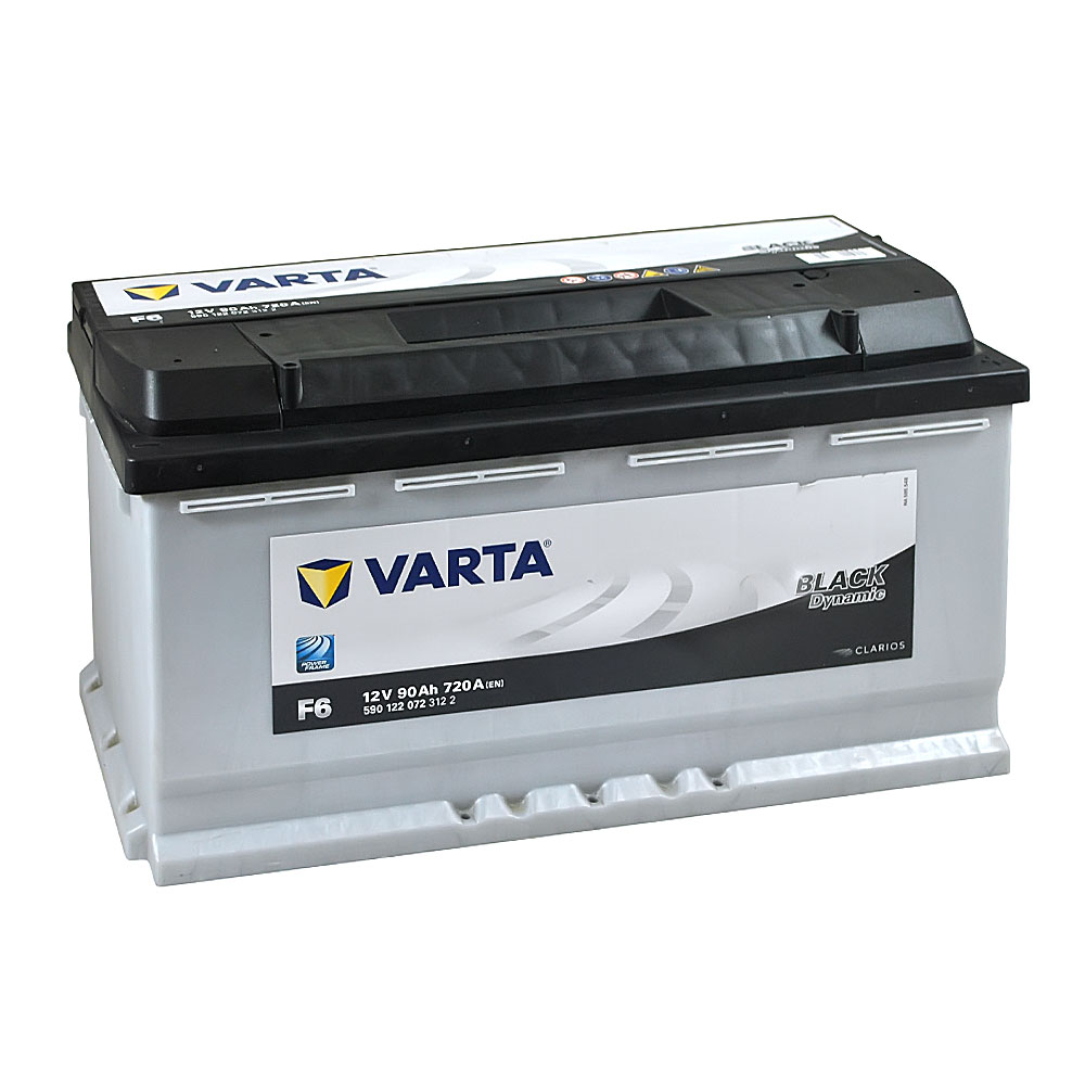 Автомобильный аккумулятор VARTA Black Dynamic (F6) 90Ah 720A R+
