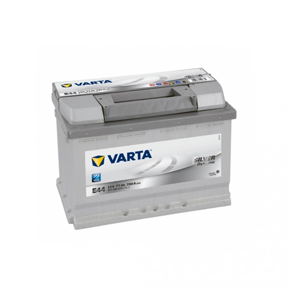 Автомобильный аккумулятор VARTA Silver Dynamic (E44) 77Ah 780A R+