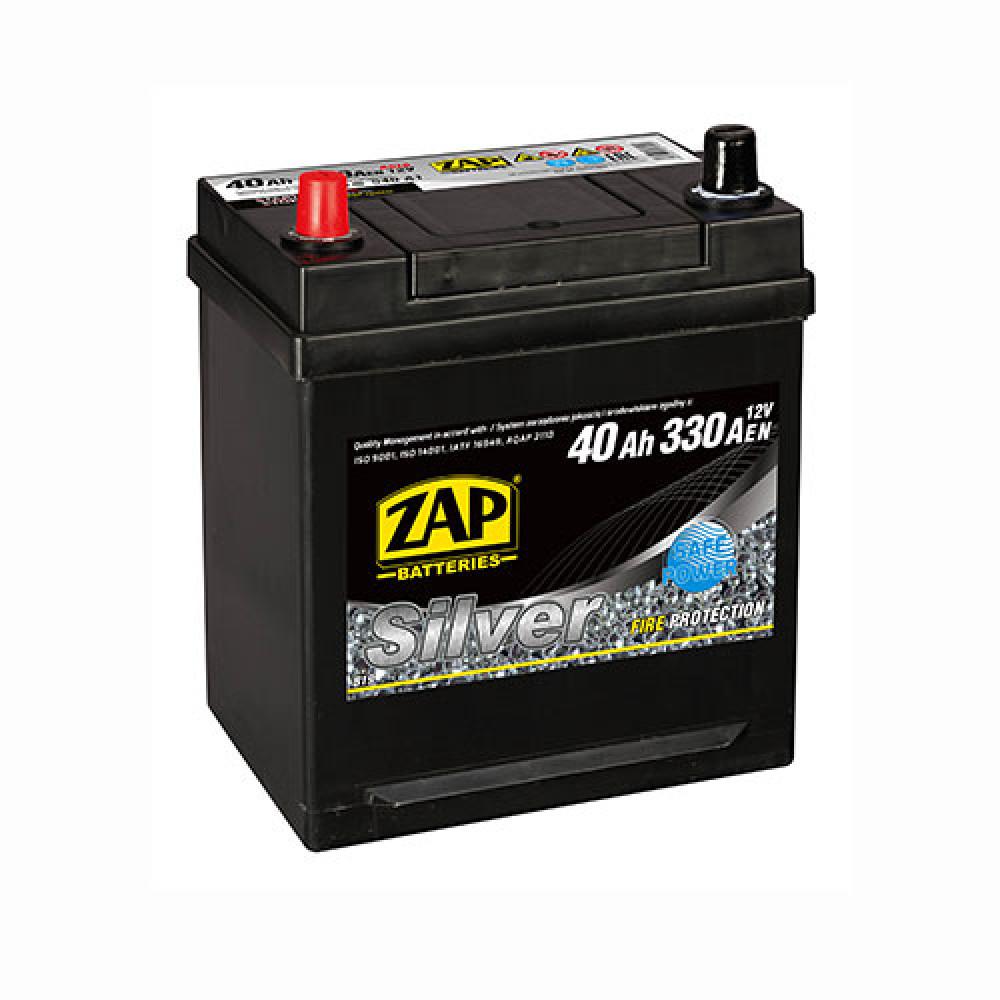 Автомобильный аккумулятор ZAP Silver Calcium Asia (540 A1) 40Аh 330А L+