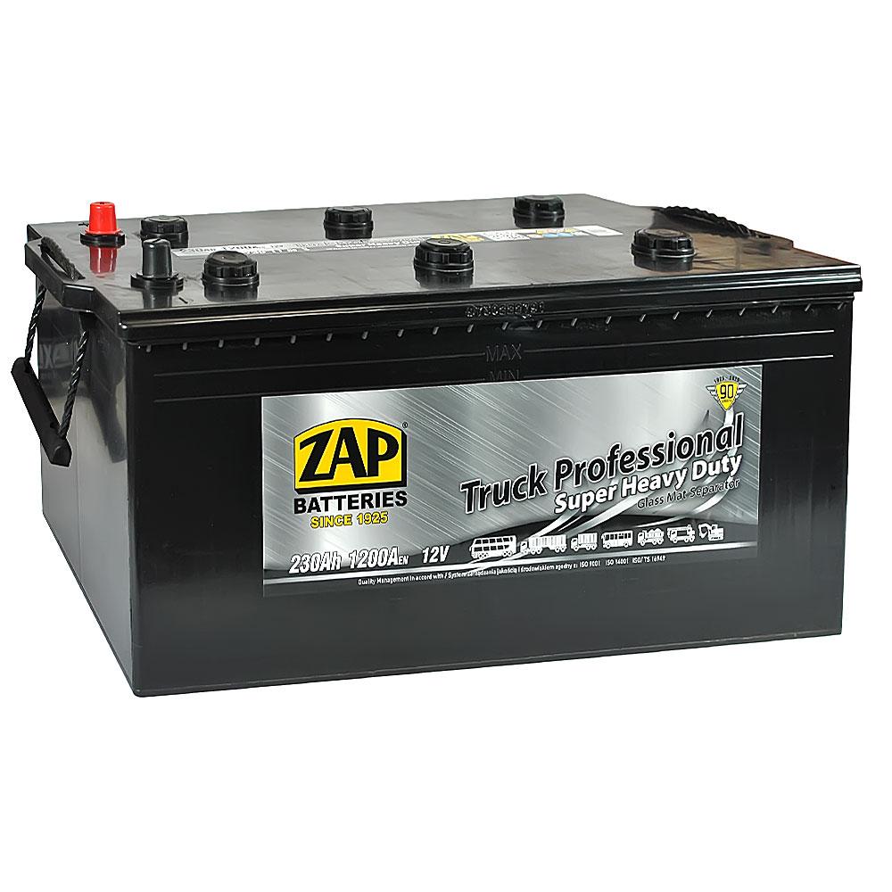 Автомобильный аккумулятор ZAP Truck Freeway (730 11) 230Ah 1200A