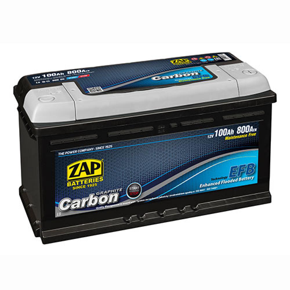 Автомобильный аккумулятор ZAP Carbon EFB (600 05) 100Аh 800А R+