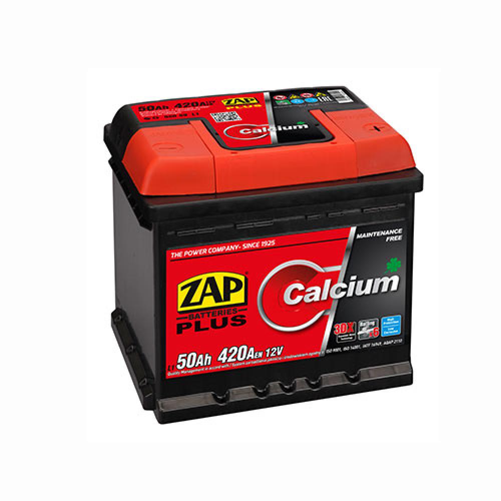 Автомобильный аккумулятор ZAP Plus (550 59) 50Ah 420A R+